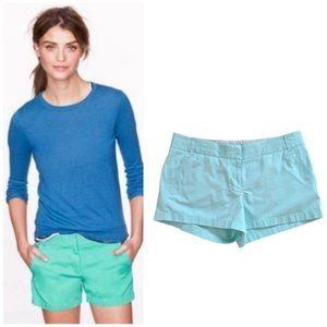 J. Crew Women's Light Blue Chino Shorts Size 10